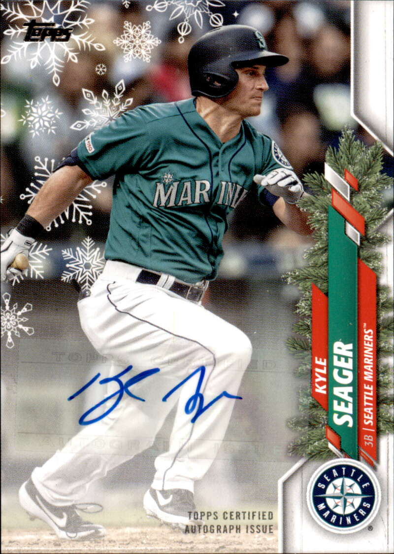 2020 Topps Holiday Autographs�