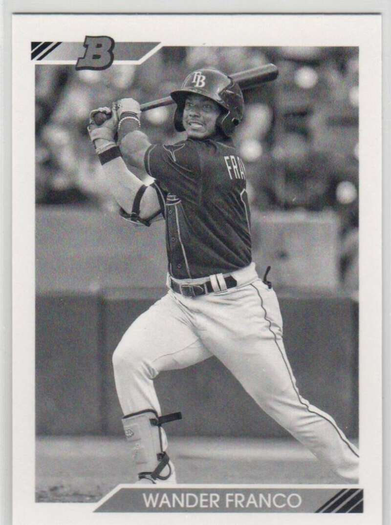 2020 Bowman Heritage Prospects Black and White