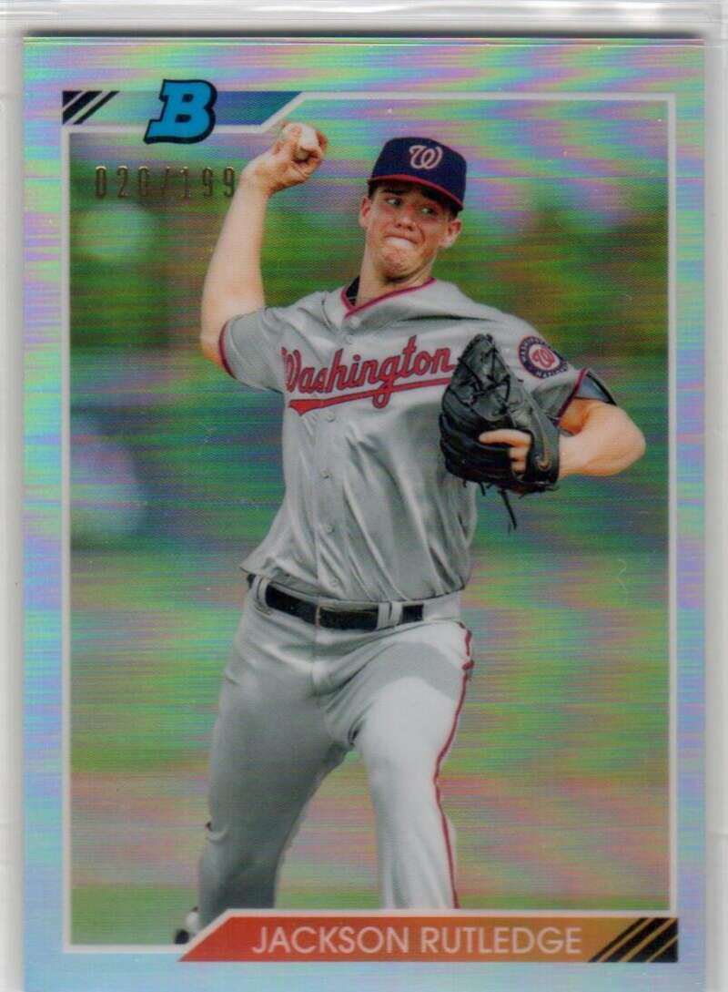 2020 Bowman Heritage Chrome Prospects Refractor