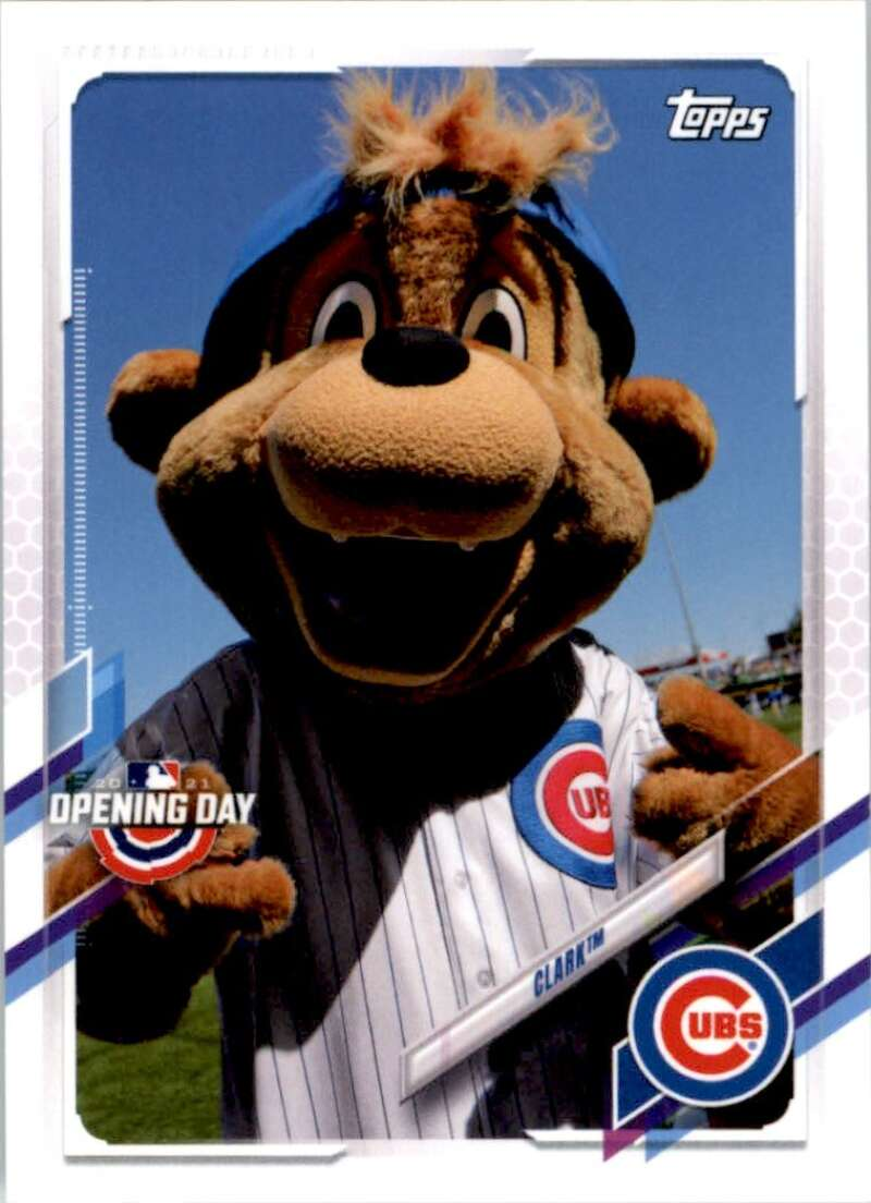 2021 Topps Opening Day Mascots