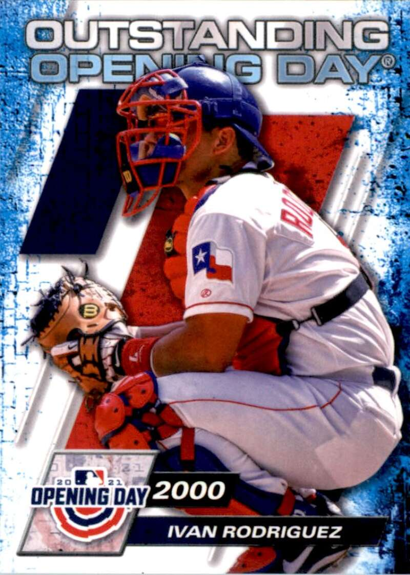 2021 Topps Opening Day Outstanding