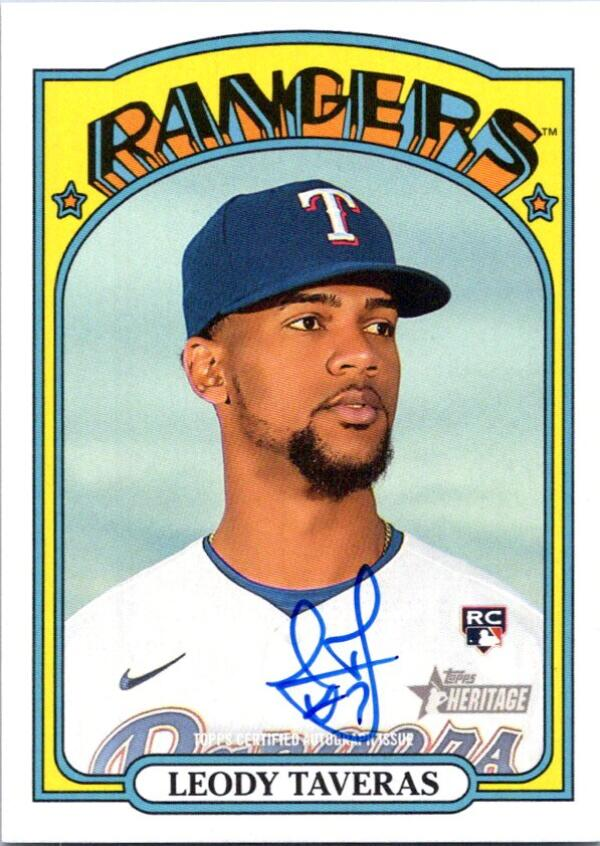 2021 Topps Heritage Real One Autographs