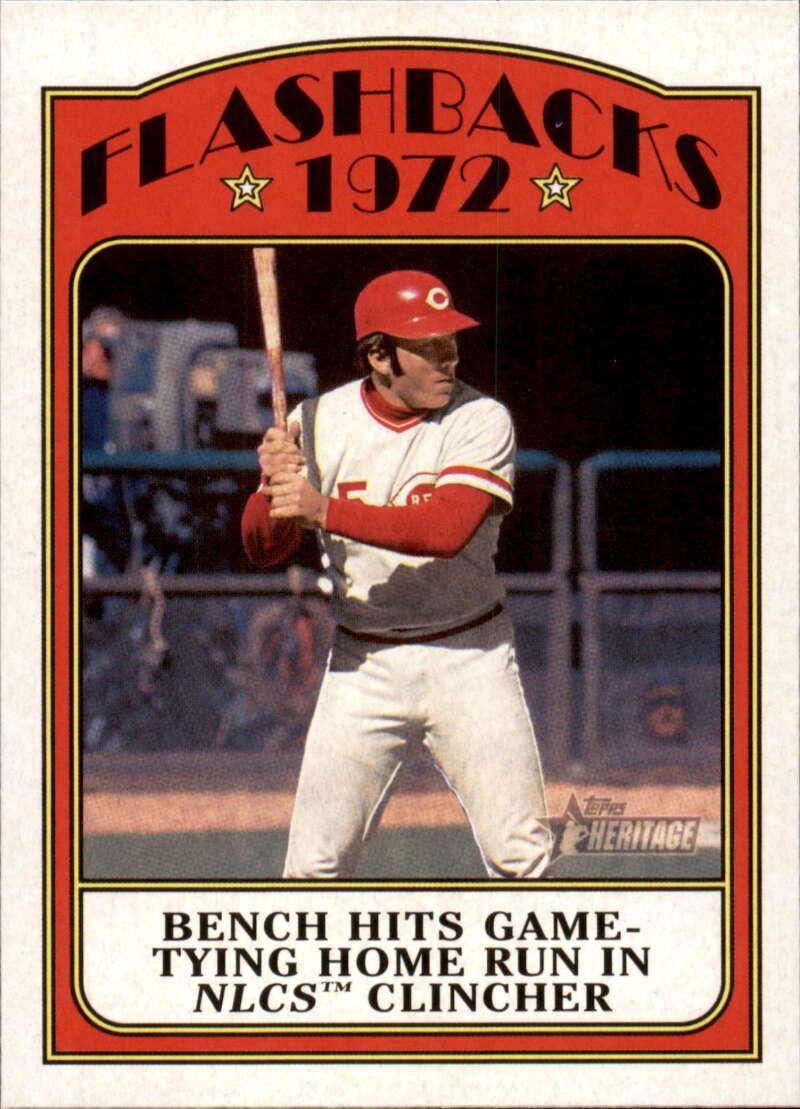 2021 Topps Heritage Baseball Flashbacks
