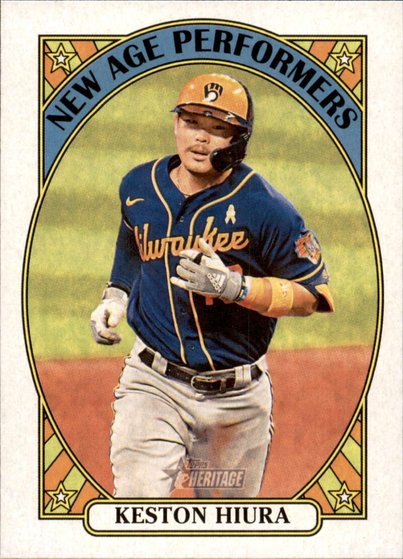2021 Topps Heritage New Age Performers