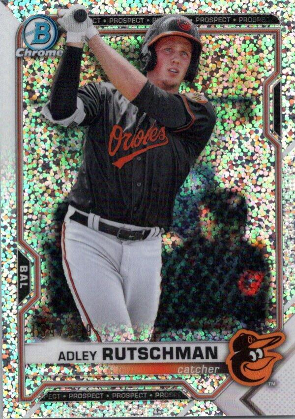 2021 Bowman  Chrome Prospects Refractor Speckle