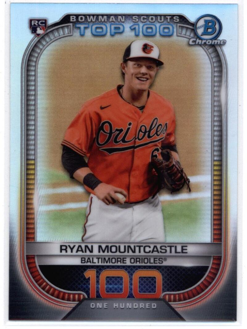 2021 Bowman  Scout's Top 100 Refractor
