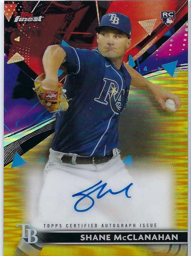 2021 Topps Finest Autographs Refractor Gold