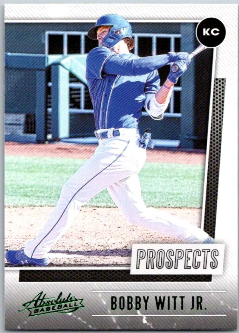 2021 Panini Absolute Prospects Green
