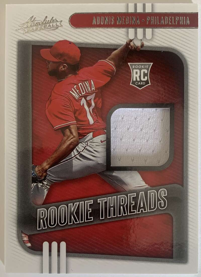 2021 Panini Absolute Rookie Threads Retail