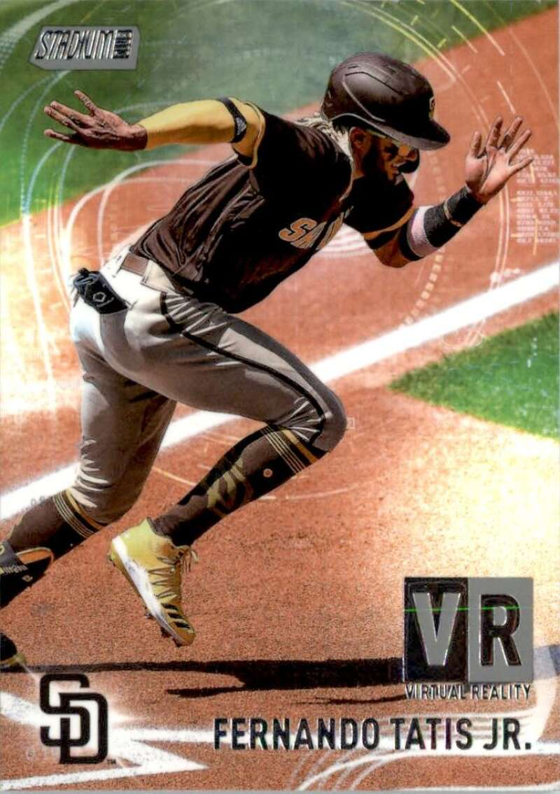 2021 Topps Stadium Club Virtual Reality