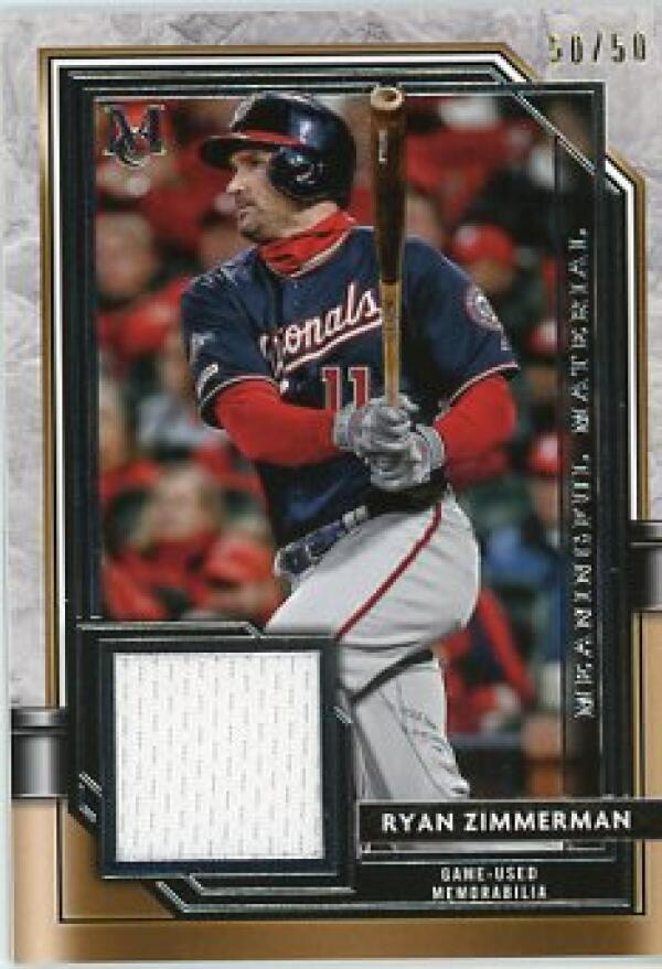 2021 Topps Museum Meaningful Materials Relics