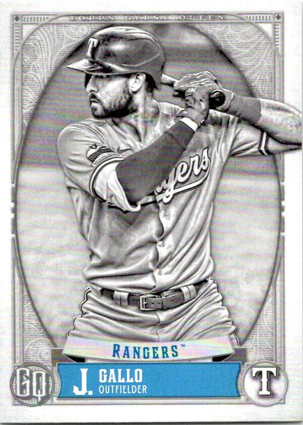 2021 Topps Gypsy Queen Black and White