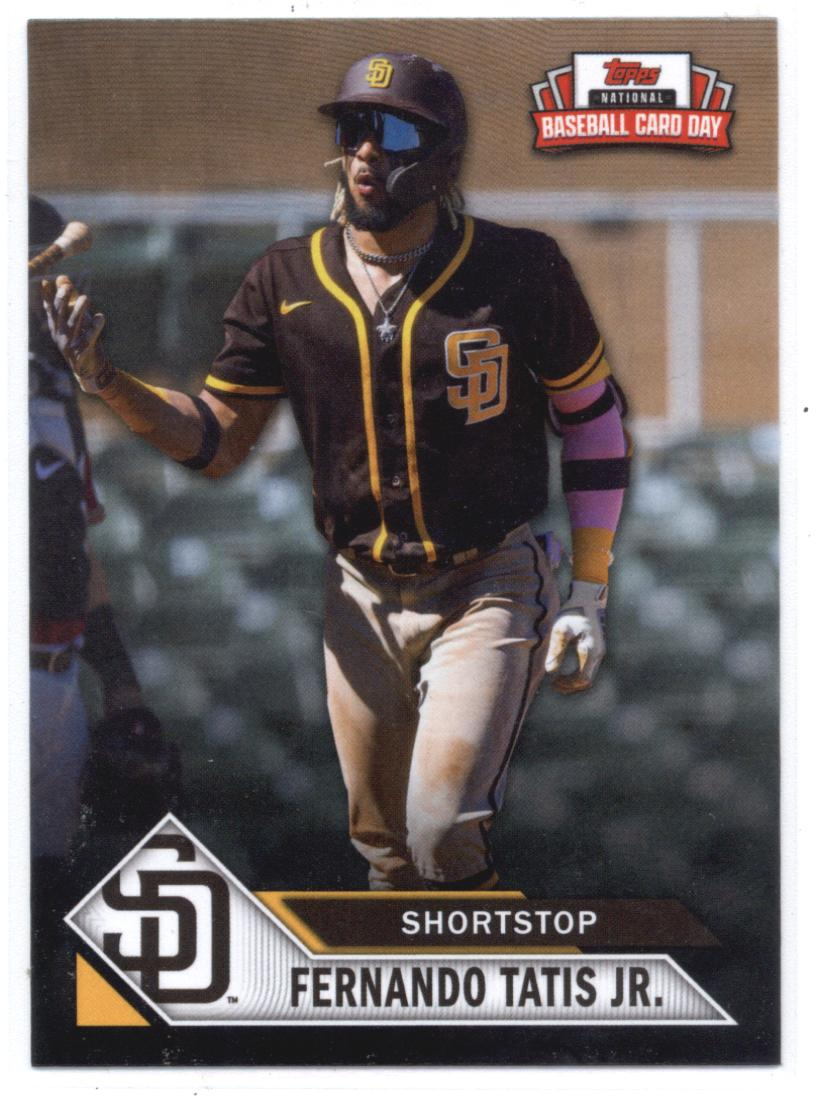 2021 Topps National Baseball Card Day Incentive Exclusives