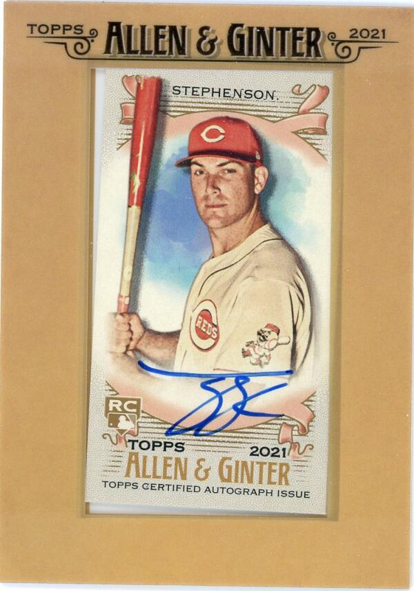 2021 Allen and Ginter  Framed Mini Baseball Autographs