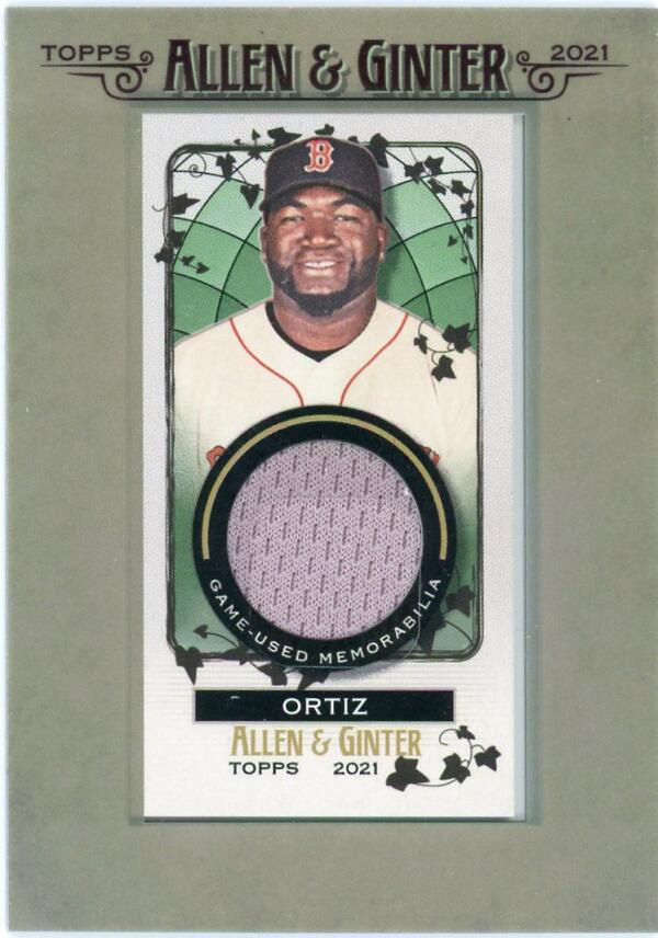 2021 Allen and Ginter  Mini Framed Relics