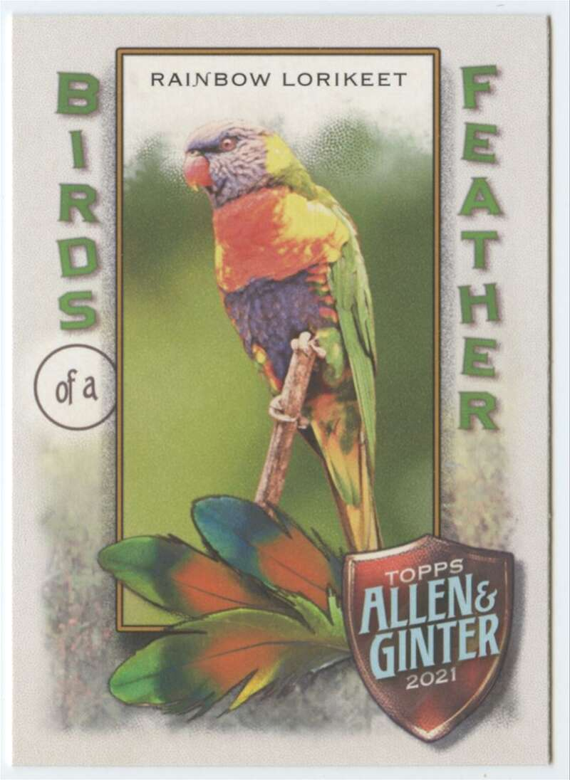 2021 Allen and Ginter  Birds of a Feather