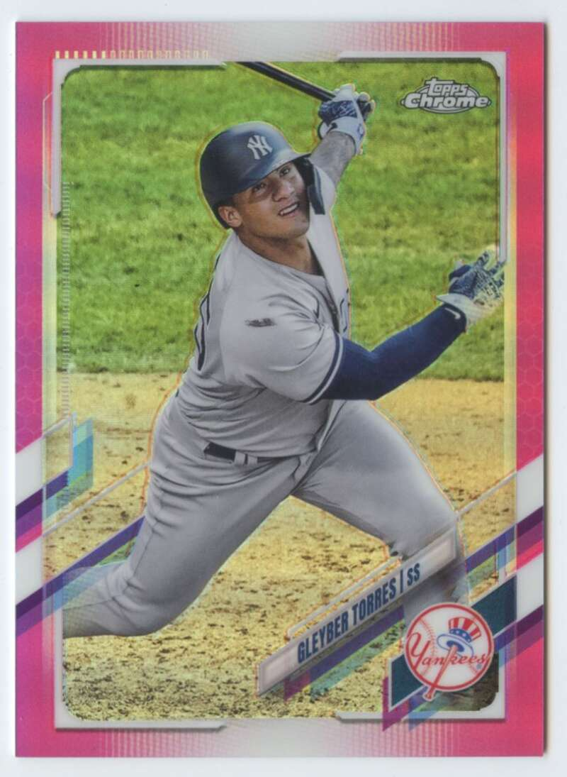 2021 Topps Chrome Refractor Pink