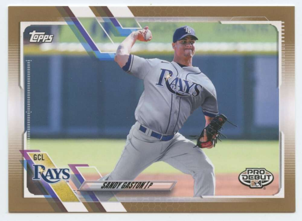 2021 Topps Pro Debut Gold