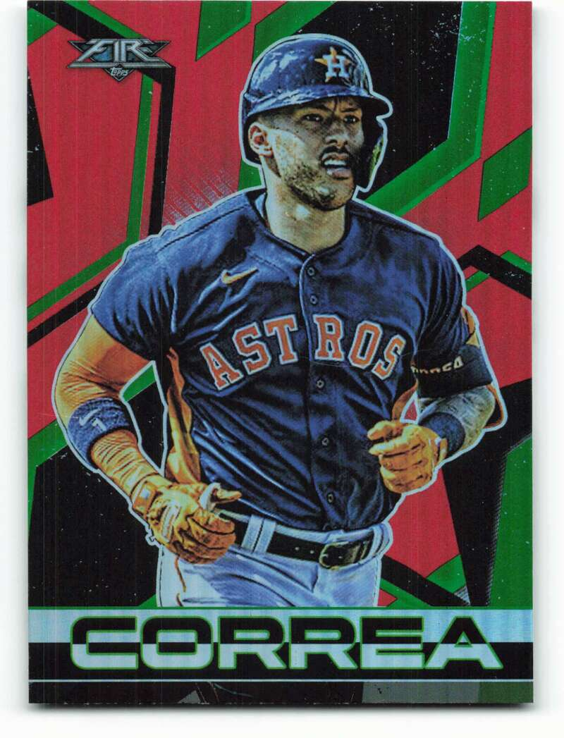 2021 Topps Fire Flame