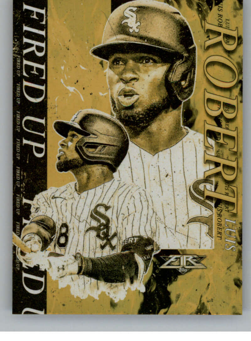 2021 Topps Fire Fired Up Gold Minted