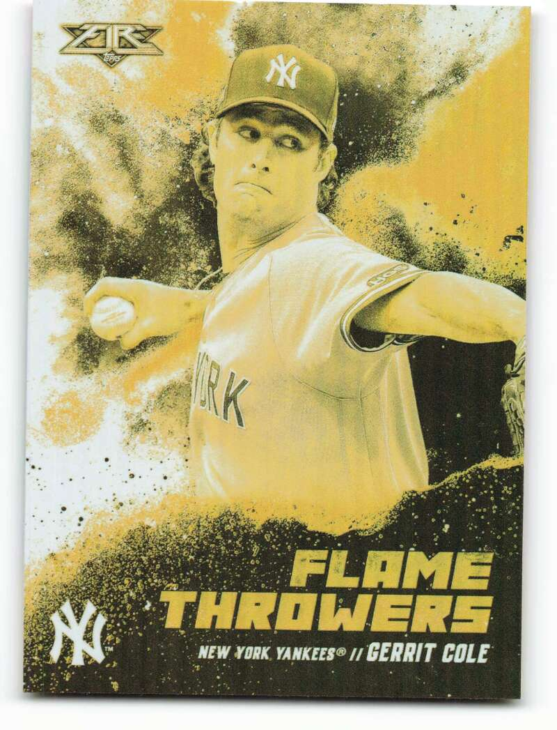 2021 Topps Fire Flame Throwers