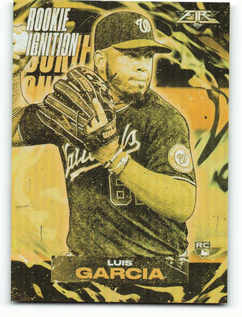 2021 Topps Fire Rookie Ignition