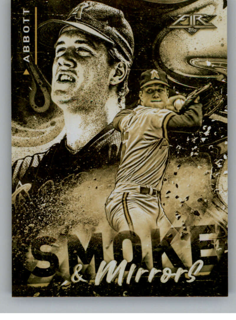 2021 Topps Fire Smoke and Mirrors Gold Minted