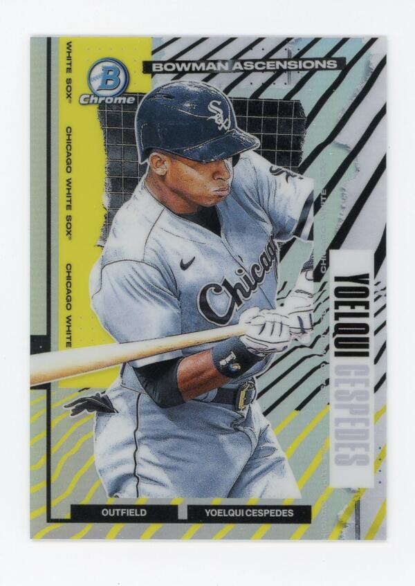 2021 Bowman Chrome Ascensions Refractor
