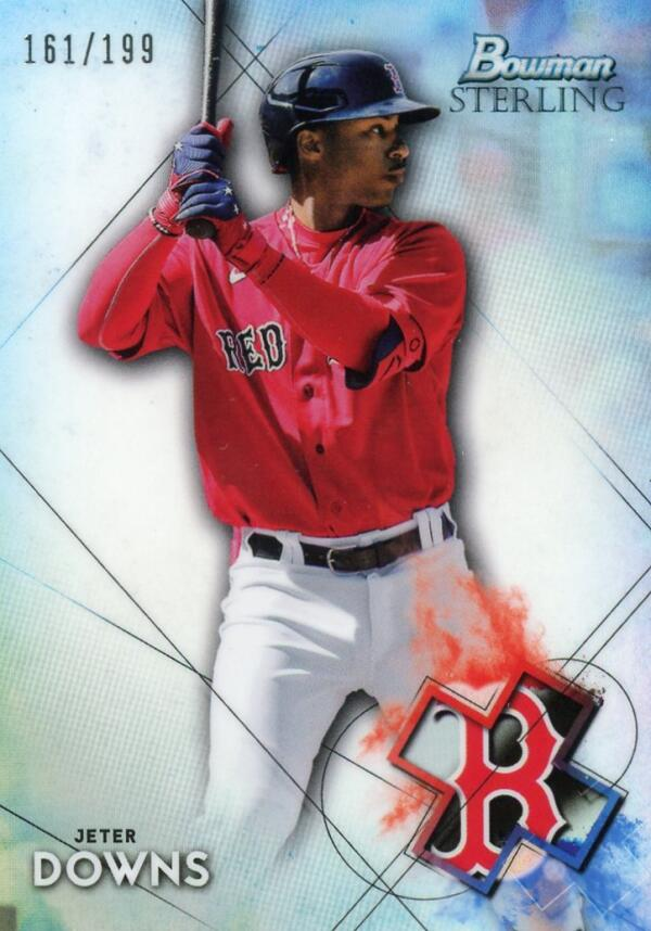 2021 Bowman Sterling Prospects Refractor