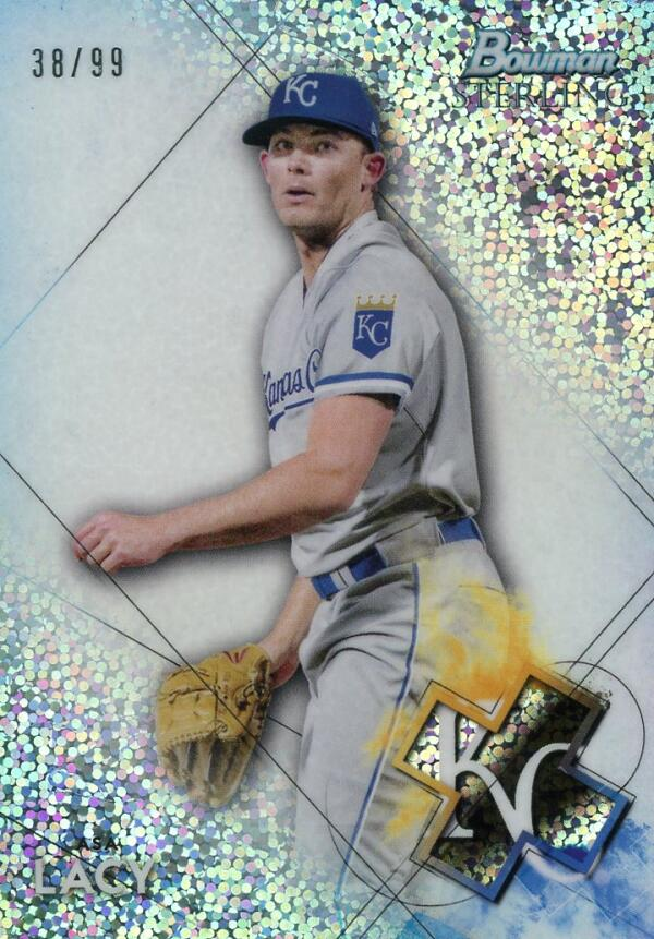 2021 Bowman Sterling Prospects Refractor Speckle