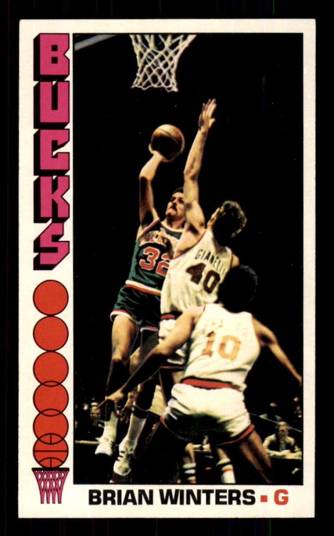 1976-77 Topps #46 Brian Winters Milwaukee Bucks EX Excellent NBA