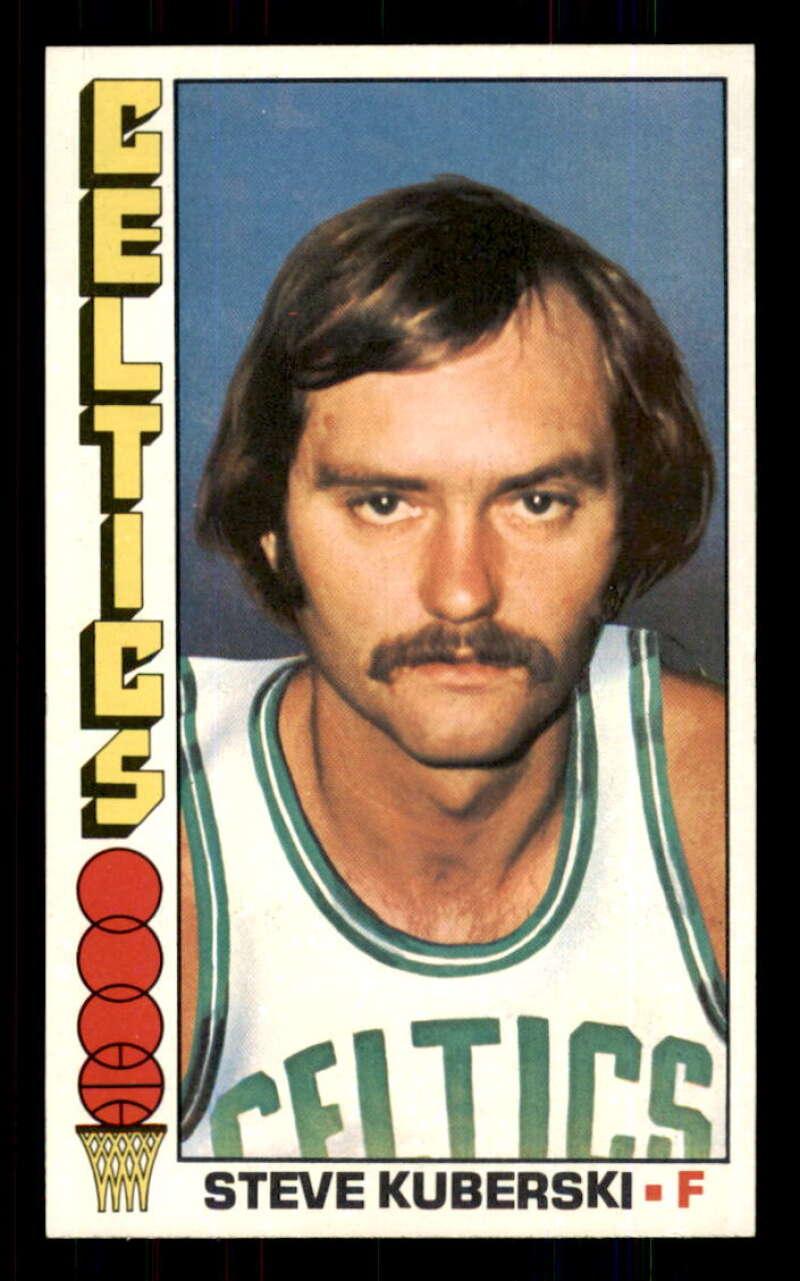 1976-77 Topps #54 Steve Kuberski Boston Celtics VG Very Good NBA