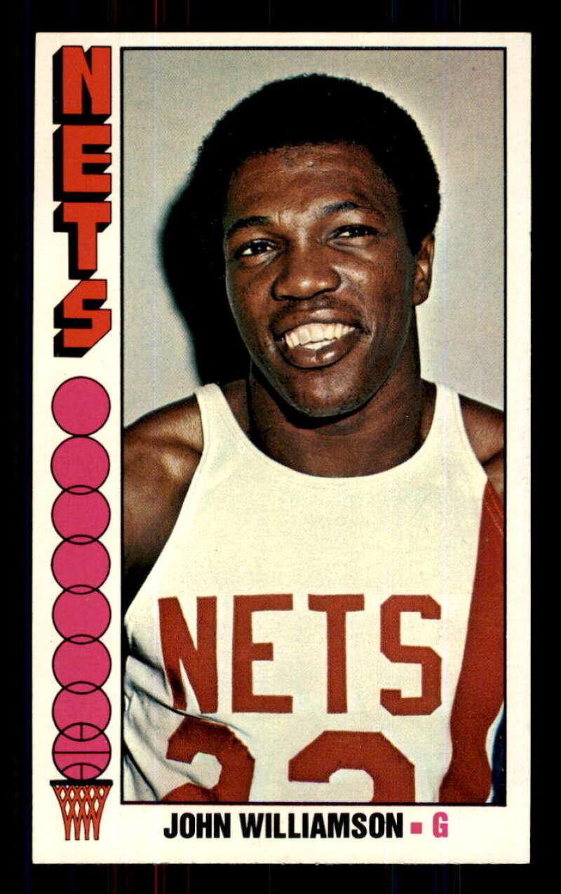 1976-77 Topps #113 John Williamson New York Nets EX Excellent NBA