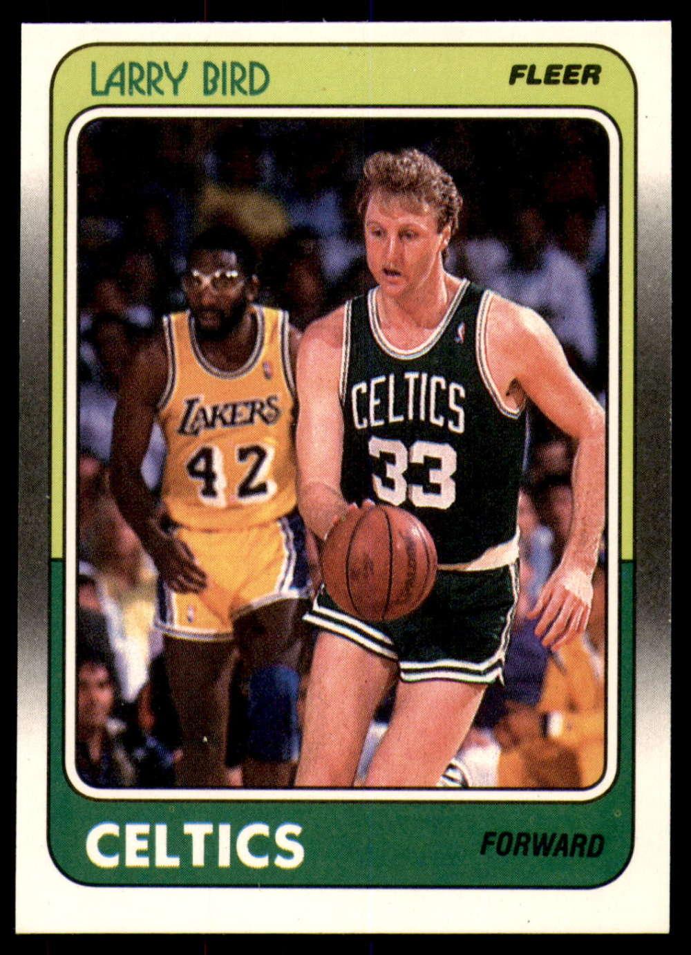 1988-89 Fleer #9 Larry Bird NM Near Mint