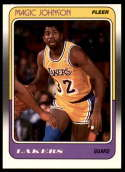 1988-89 Fleer #67 Magic Johnson NM Near Mint