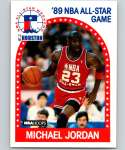1989-90 Hoops Basketball #21 Michael Jordan Chicago Bulls AS
