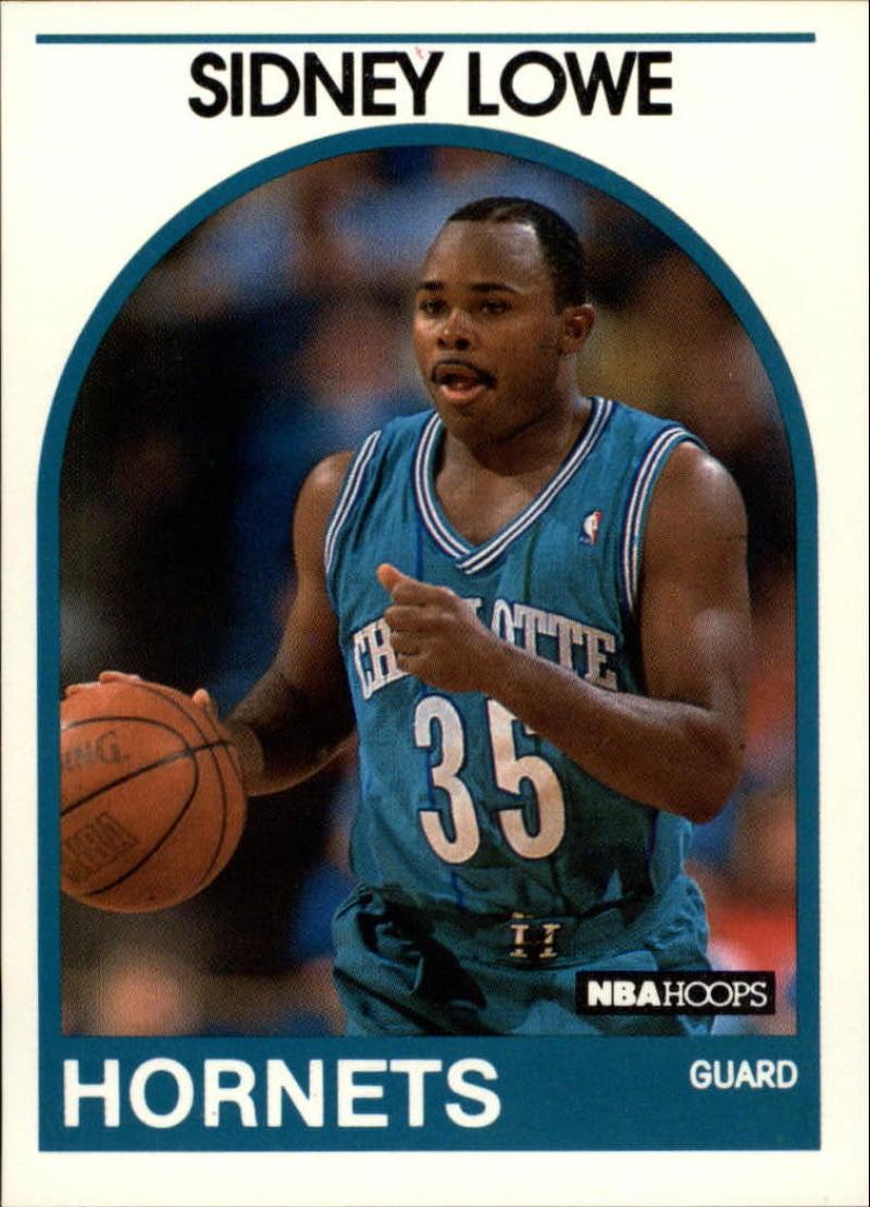 1989-90 Hoops #31 Sidney Lowe NM-MT SP