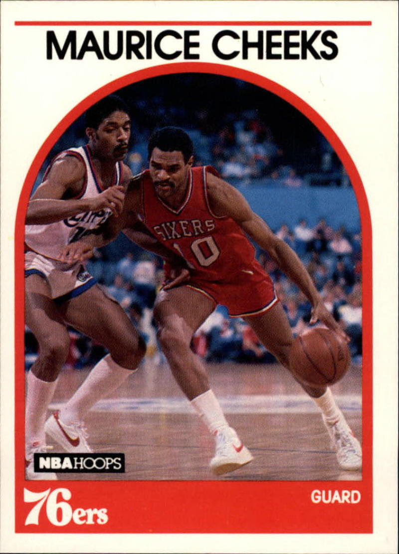 1989-90 Hoops #65 Maurice Cheeks NM-MT SP