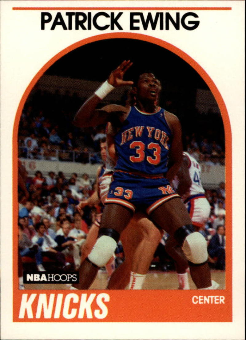 1989-90 Hoops #80 Patrick Ewing NM-MT