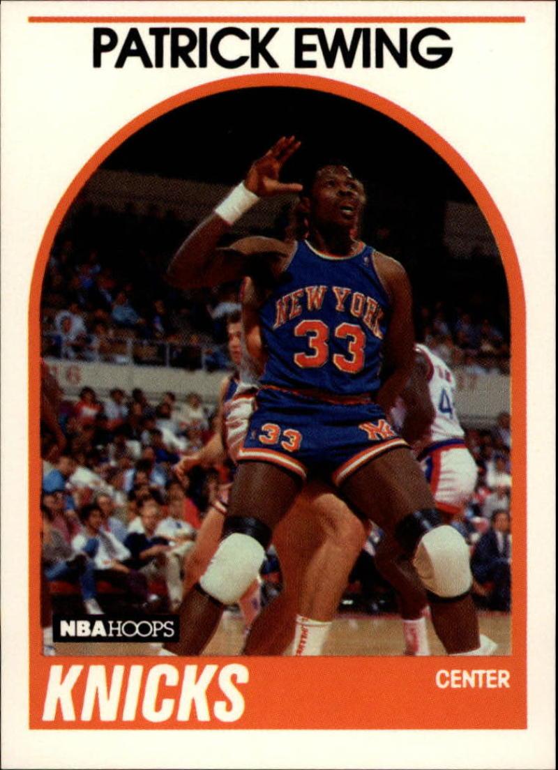 1989-90 Hoops #80 Patrick Ewing NM-MT