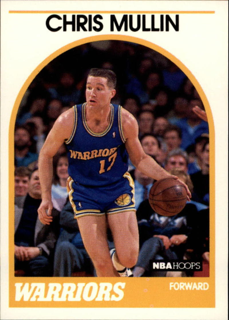 1989-90 Hoops #90 Chris Mullin NM-MT