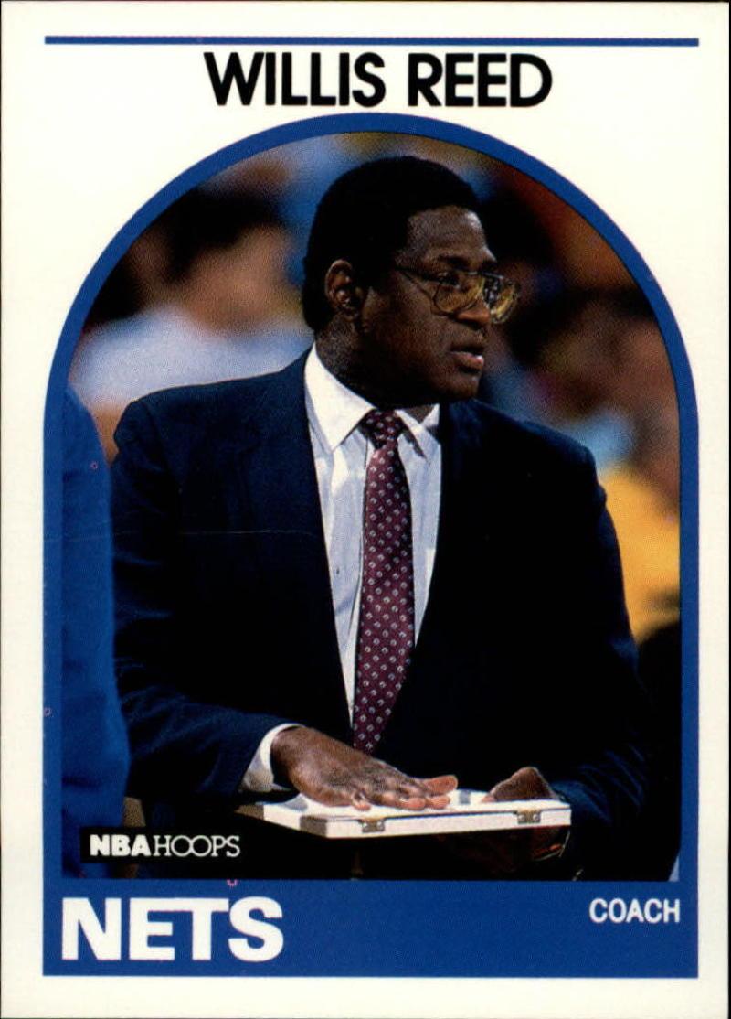 1989-90 Hoops #92 Willis Reed CO/ NM-MT SP