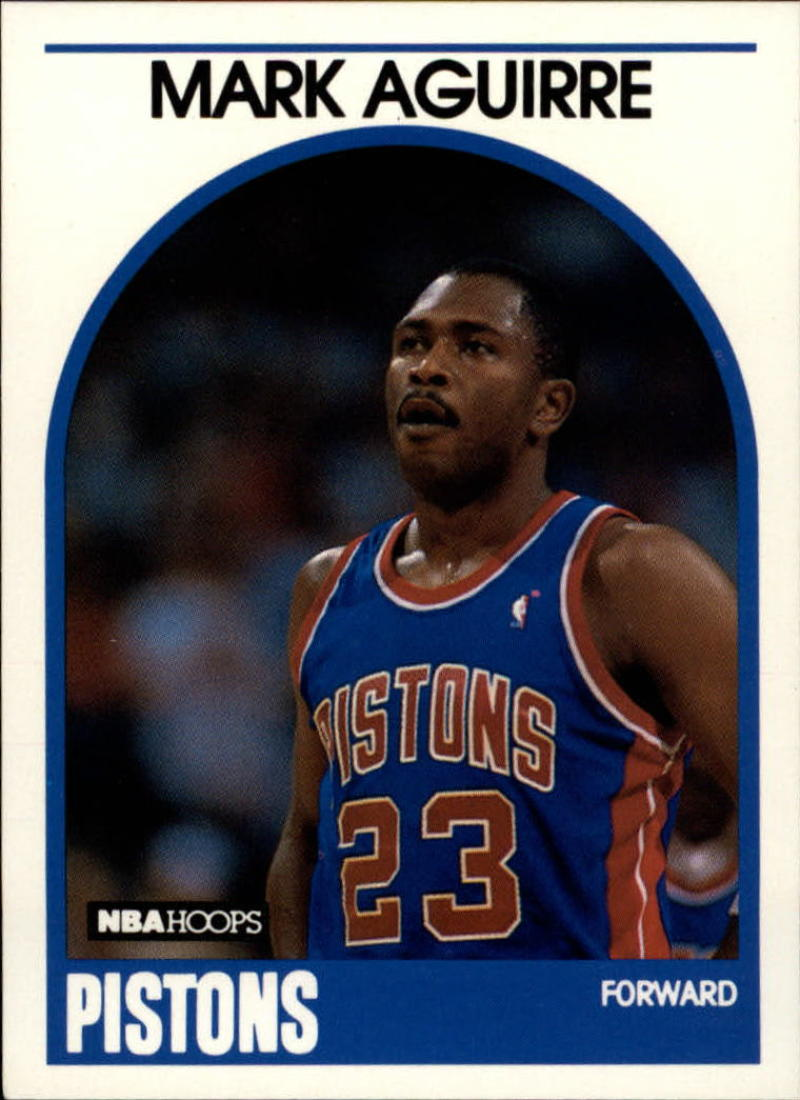1989-90 Hoops #95 Mark Aguirre NM-MT