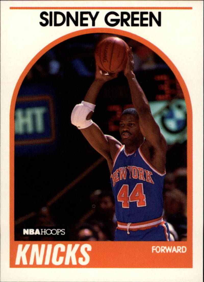 1989-90 Hoops #97 Sidney Green NM-MT SP