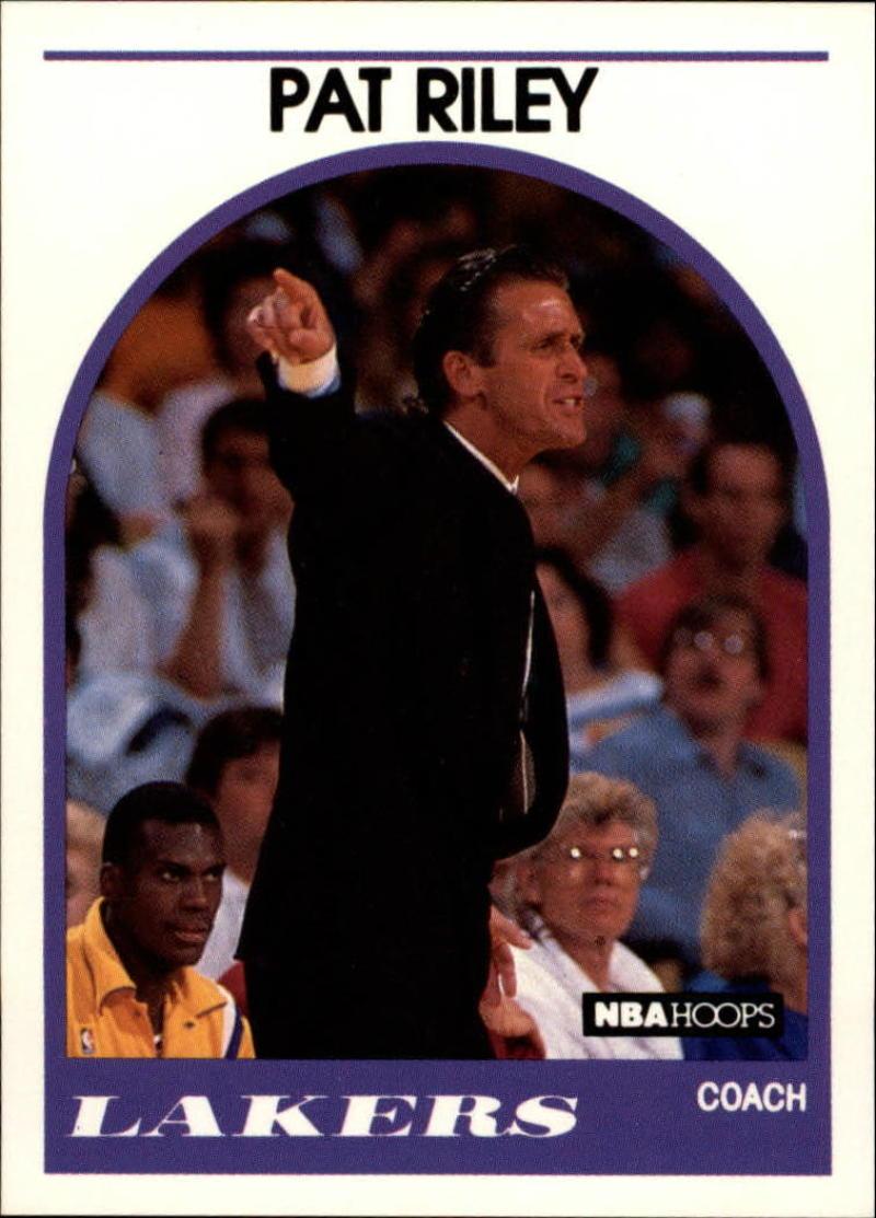 1989-90 Hoops #108 Pat Riley NM-MT CO