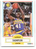 1990-91 Fleer #83 LaSalle Thompson NM-MT Indiana Pacers
