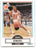 1990-91 Fleer #99 Kevin Edwards NM-MT Miami Heat