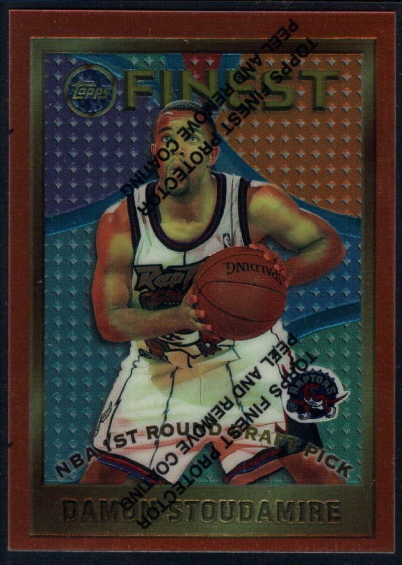 1995-96 Topps Finest #117 Damon Stoudamire NM-MT RC Rookie