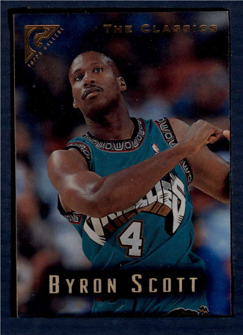 1995-96 Topps Gallery #139 Byron Scott NM-MT