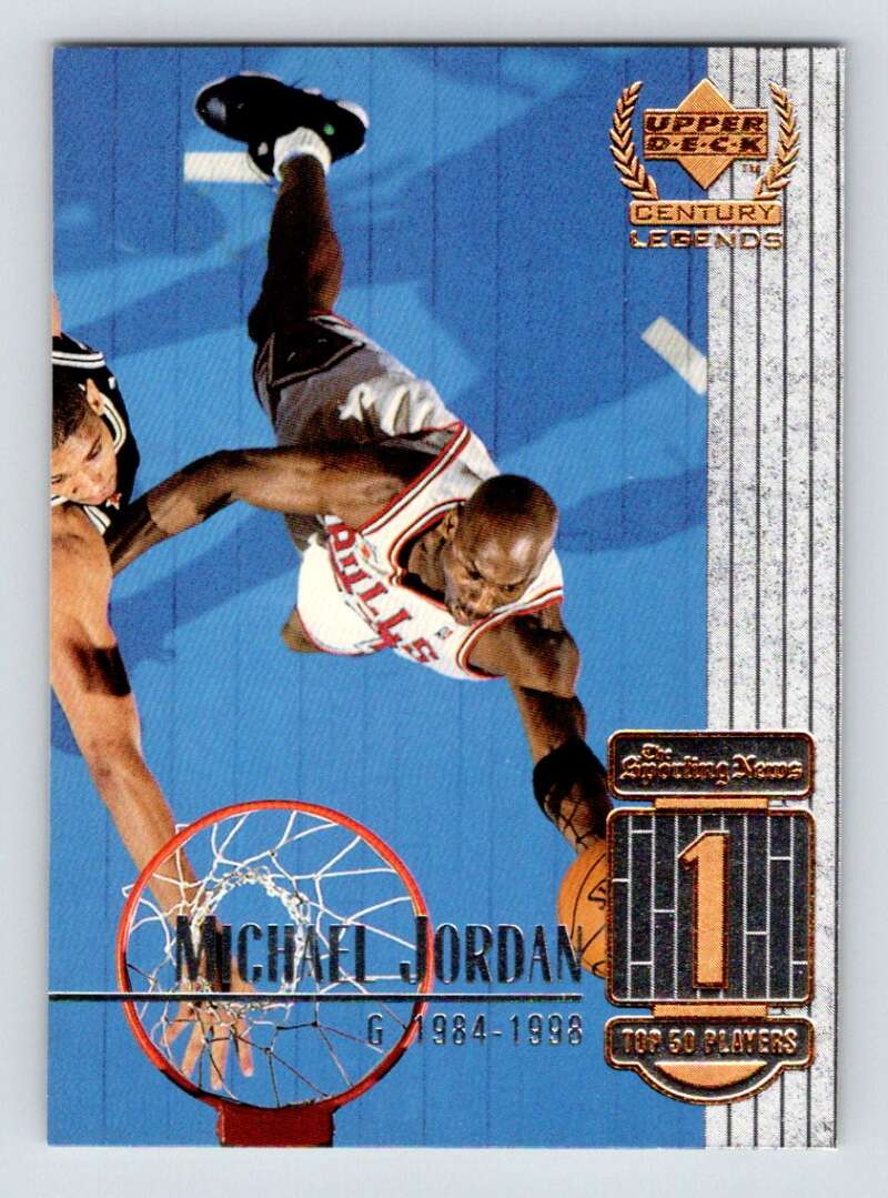 1999-00 Upper Deck Century Legends #1 Michael Jordan NM Near Mint